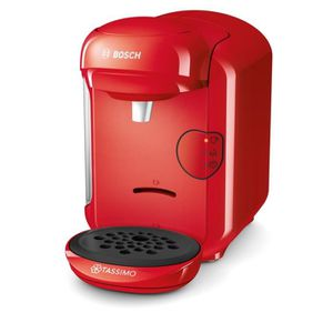 MACHINE À CAFÉ Machine à Café Capsule 1300 W, Rouge