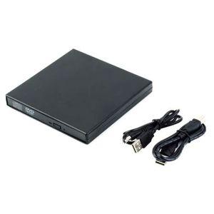 LECTEUR - GRAVEUR EXT. 2.0 USB Pc Portable graveur CD DVD RW ROM Lecteur