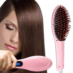 FER A FRISER Brosse à lisser Fer à Lisser Lisseur cheveux bross