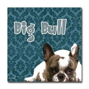 Tableau Bulldog Achat Vente Pas Cher