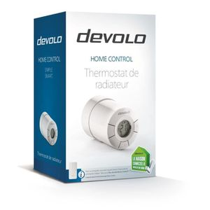 THERMOSTAT D'AMBIANCE devolo 9512 Home Control Thermostat de radiateur,