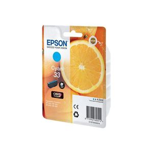 CARTOUCHE IMPRIMANTE Cartouche Epson 33 Cyan (Série Orange)