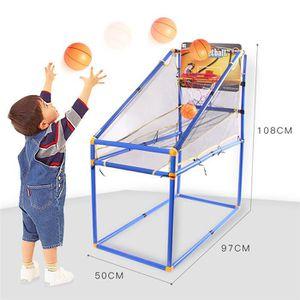 BRICOLAGE - ÉTABLI Jouet de basketball de sport pour enfants + 2 bask