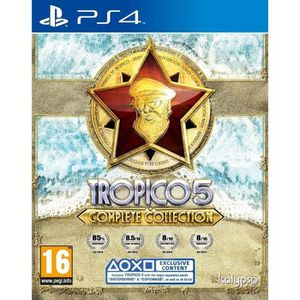 JEU PS4 TROPICO 5 COMPLETE COLLECTION