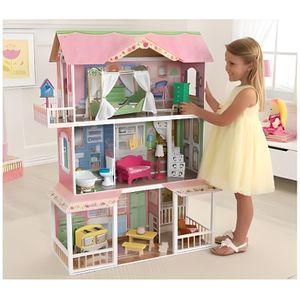 MAISON POUPÉE KIDKRAFT - Maison de poupées en bois Sweet Savanna