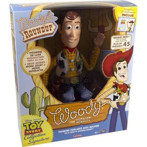 FIGURINE - PERSONNAGE TOY STORY Collection signature Sherif Woody