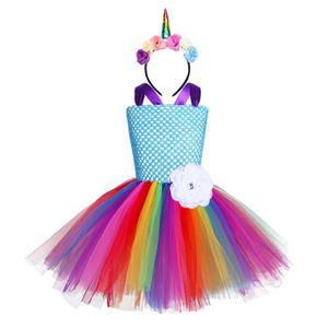 DÉGUISEMENT - PANOPLIE Robe Princesse Costume Licorne Halloween Carnaval