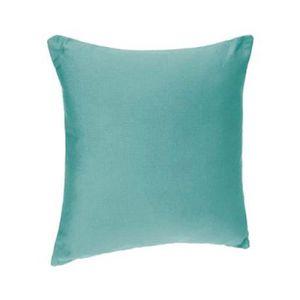 Bleu Mer//vert 100/% Coton Velours Housse De Coussin édition limitée