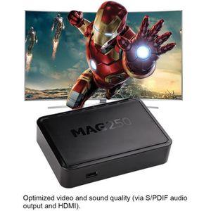 BOX MULTIMEDIA Décodeur numérique MAG 250 IPTV