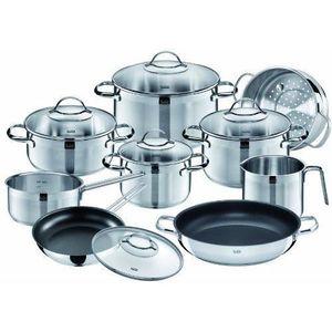 BATTERIE DE CUISINE Silit Achat 23684411 Batterie de cuisine 10 pièces