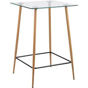 Table a manger en chene carree achat vente table a - Table a manger carree pas cher ...