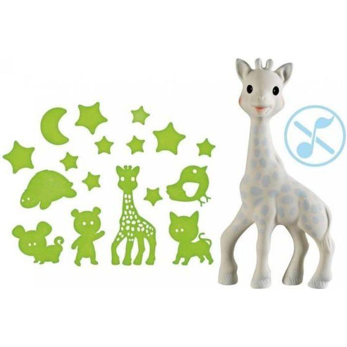 coffret de nuit Sophie la girafe - modèle garçon