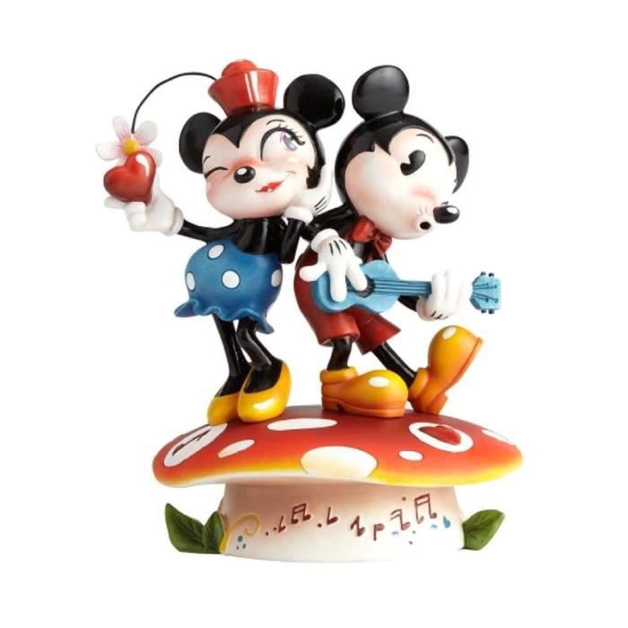 Official Licensed Disney Miss Mindy Mickey Mouse et Minnie Mouse Figurine