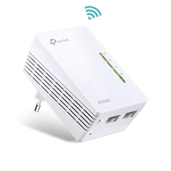 TP-Link TL-WPA4220 CPL 600 Mbps WiFi 300 Mbps, 2 Ports Fast Ethernet - étendez votre connexion Internet dans chaque pièce de la mais