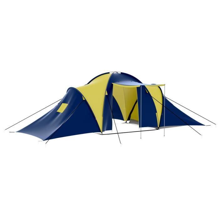 #Market#1388Magnifique Tente de camping familiale 6-10 personnes Haut de gamme Professionnel - Tente Camping Extérieur Imperméable B