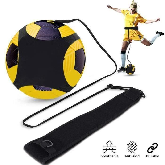 Élastique Ceinture D'entraînement pour Football Entraînement Réglable, Football Kick Traine Ceinture Entraîneur Débutant Réglable