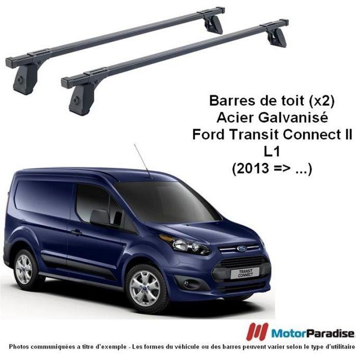 Barres de Toit (x2) Ford Transit Tourneo-Connect II (L1) - (2014 => ...)