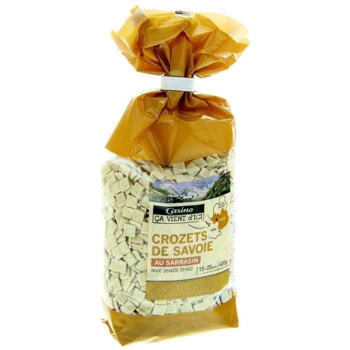 CASINO Crozets de Savoie au sarrasin - 400 g