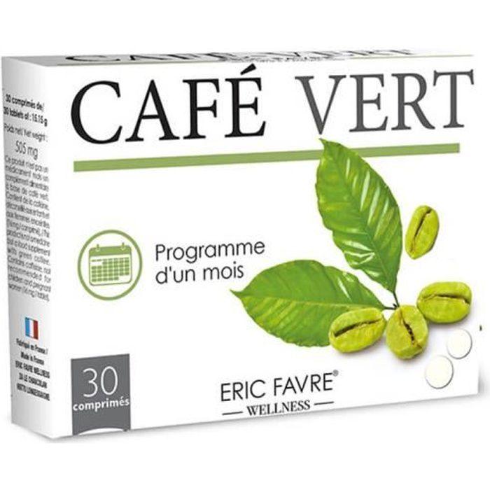 Eric Favre - Café Vert - Programme Vitalité Et Minceur