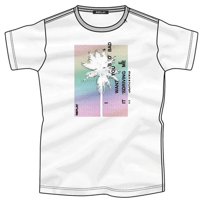 Vêtements Homme T-Shirts Replay M3014 T-shirt