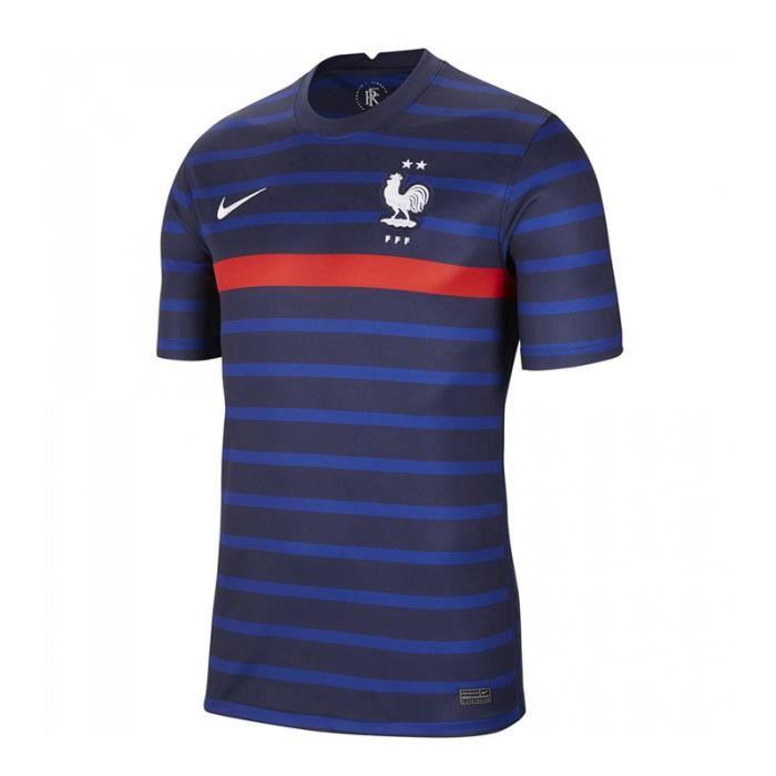 Maillot France - 2020-2021 Maillot de Football Home Jersey - Bleu