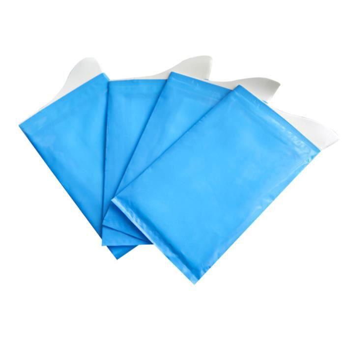 4pcs unisexe hommes femmes enfants bref secours sacs d'urinoir jetables packs super BASSIN DE LIT - URINAL - CHAISE PERCEE