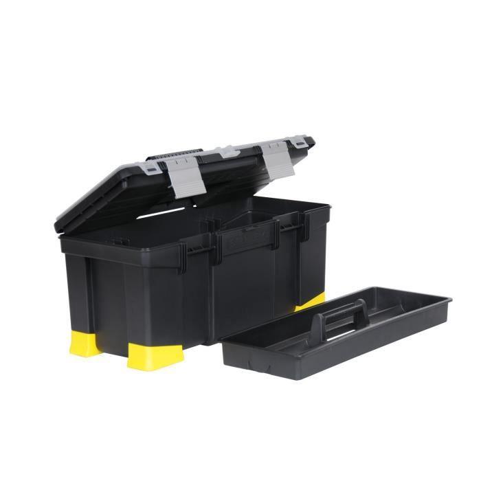 STANLEY Boite à outils vide Hi-viz - L 55 cm