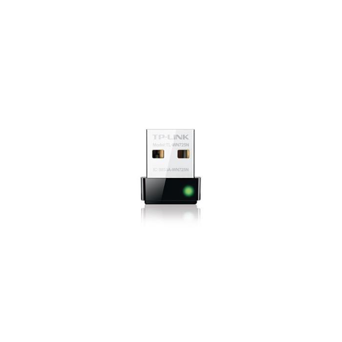 Carte réseau sans fil USB TL-WN725N 150 MBPS NANO