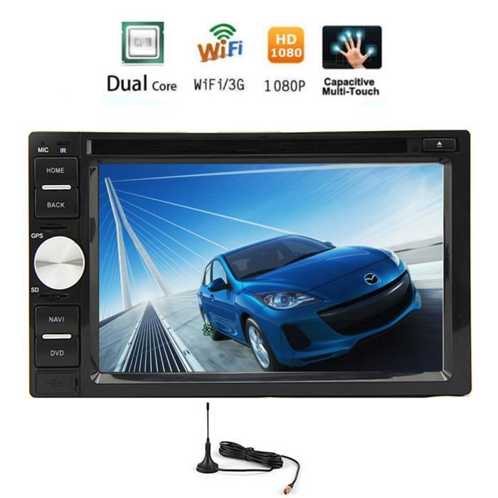 3d gps android autoradio 5 1 multi touch capacitif cran radio auto vid o de voiture autoradio. Black Bedroom Furniture Sets. Home Design Ideas