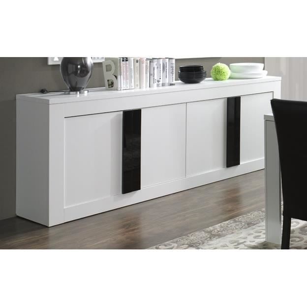 Buffet bahut enfilade 4 portes alpens meuble design for Meuble 4 portes ikea