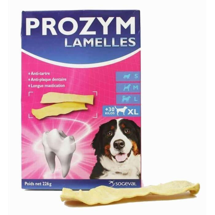 FRIANDISE PROZYM Lamelles à mâcher pour une hygiène bucco-de