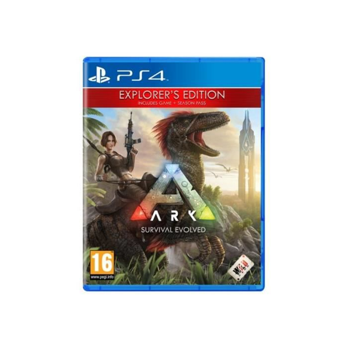 Ark Survival Evolved Explorers Edition Playstation 4 Anglais Italien