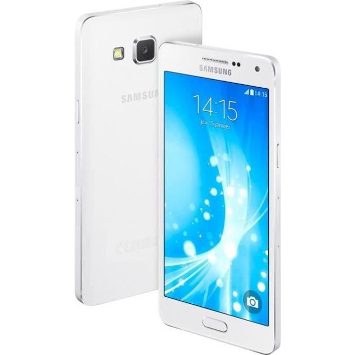 samsung a500 galaxy a5 4g nfc 16gb blanc achat. Black Bedroom Furniture Sets. Home Design Ideas