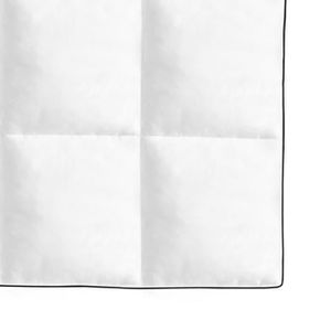 COUETTE Couette 200 x 200 cm Duvet 4 saisons 2 Personnes D