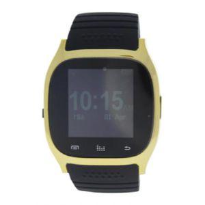 MONTRE ek-b5 montre connectee bracelet en silicone noir -