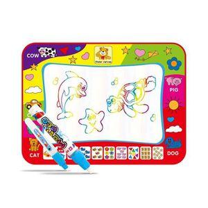 JEU DE COLORIAGE - DESSIN - POCHOIR Tapis Doodle Mat Enfant, 80*60 cm Tapis De Dessin,