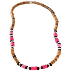 collier rasta femme