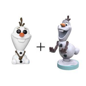 FIGURINE DE JEU Pack La Reine des Neiges - Cable Guy Figurine Olaf