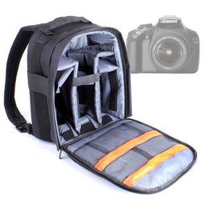 SAC PHOTO Sac à dos modulable pour Canon EOS 60D, 1100D, 7D