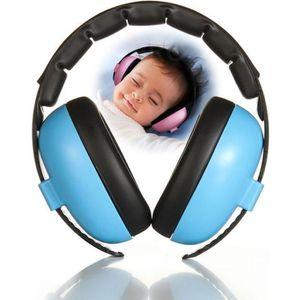 CASQUE ENFANT Casque Anti-Bruit Pour Bébé Bleu