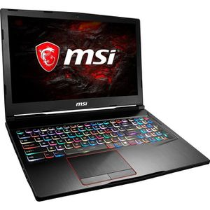 ORDINATEUR PORTABLE MSI GE63 8RE-028FR Raider RGB - Intel Core i7-8750