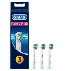BROSSETTE Oral-B FlossAction 3 brossettes de rechange