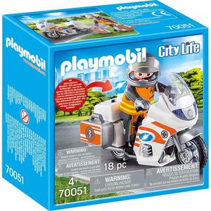 UNIVERS MINIATURE PLAYMOBIL 70051 - City Life Les Secouristes - Urge