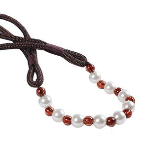 RIDEAU Embrasses de corde de rideau perlées modernes cein