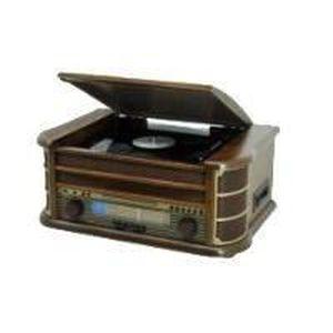 CHAINE HI-FI Soundmaster NR513 Chaine Stéréo CD LP USB MP3