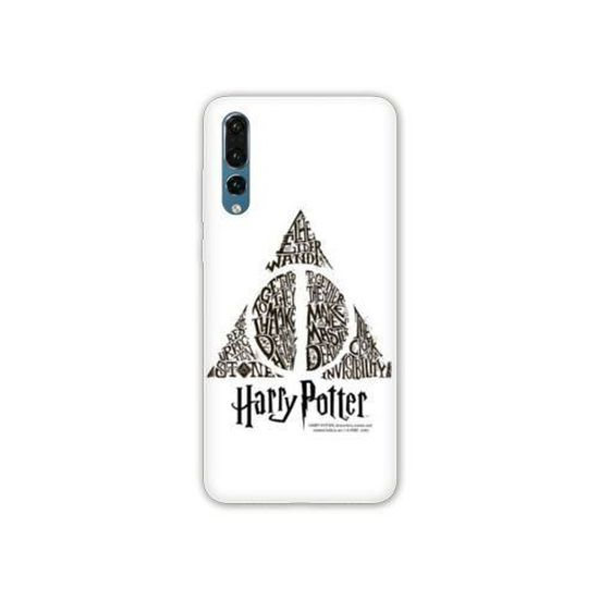 Coque Huawei P30 PRO WB License harry potter pattern taille unique Hollows Triangle Bl