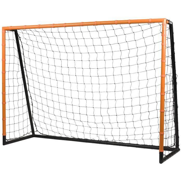 STIGA But de football Scorer - L 210 x H 150 x P 70 cm - Noir et orange