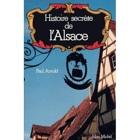 LIVRE PARANORMAL Histoire secrète de l'Alsace