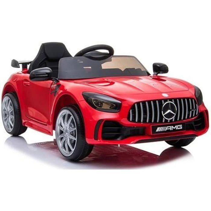 Mercedes GTR 12v Rouge - Voiture électrique pour enfant avec batterie 12v et télécommande