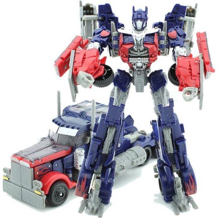 Transformers Robot Figure Jouet de DIY jeu d'assemblage Meilleur jouet de construction, Optimus Prime